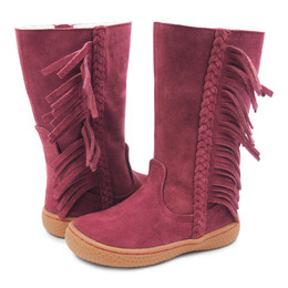 Livie & Luca Sonoma Boots - Oxblood Suede (Fall 2018)