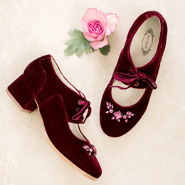 Joyfolie Tribeca Booties - Berry