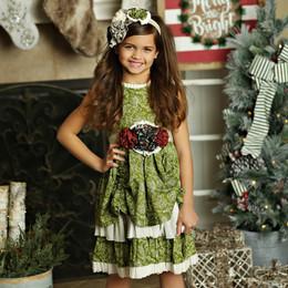 Mustard Pie Holiday Emmaline Dress (*Sash Included!*) - Holly