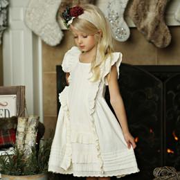 Mustard Pie Holiday Giselle Dress - Vanilla