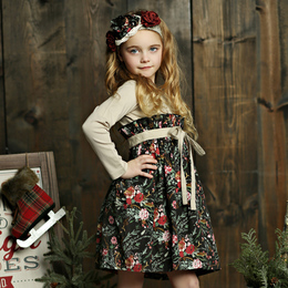 Mustard Pie Holiday Lucinda Dress - Winter Floral