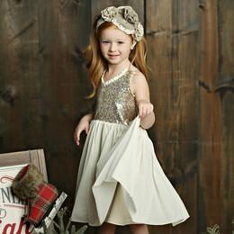 Mustard Pie Holiday Starlight Dress - Vanilla Shimmer