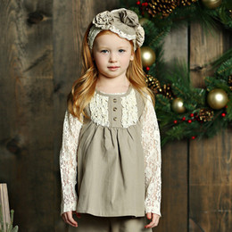 Mustard Pie Holiday Izzy Tunic - Tea (*Lace Top Sold Separately*)