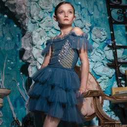 Tutu Du Monde   Once Upon A Holiday Angel's Symphony Tutu Dress - Emerald