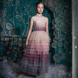 Tutu Du Monde   Once Upon A Holiday Moment To Shine Long Tutu Dress - Dusty Pink