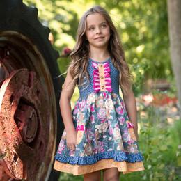 Mustard Pie Summer Glen Maggie Dress