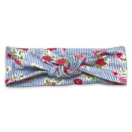Mustard Pie  Strawberry Fields Gidget Headband - Bluebell