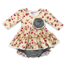 Mustard Pie  Strawberry Fields Lucy 2pc Dress & Bloomer Set (*New Style!*)