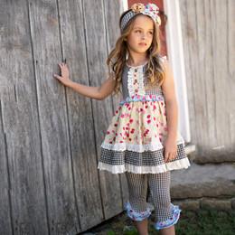 Mustard Pie  Strawberry Fields Maya 2pc Tunic & Legging Set (*New Style*)(*Up To Size 12!*)