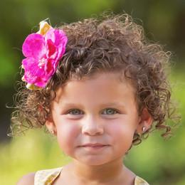 Haute Baby  Floral Fantasy Clippie