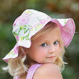 Haute Baby  Summer Blooms Sun Hat