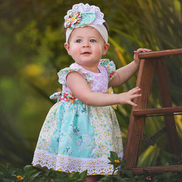 Haute Baby  Spring A Ling Dress