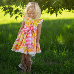 Haute Baby  Polly's Picnic Dress