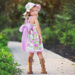 Haute Baby  Summer Blooms Dress
