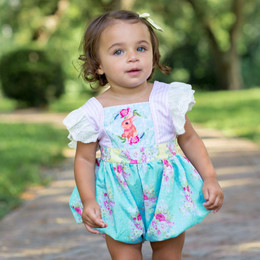Be Girl Clothing Bernadette Bubble Romper