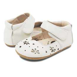 Livie & Luca Astrid Baby Shoes - Milk (Spring 2019)