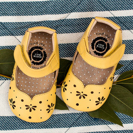 Livie & Luca Astrid Baby Shoes - Yellow (Spring 2019)
