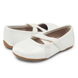 Livie & Luca Aurora Shoes - White Pearl (Spring 2019)