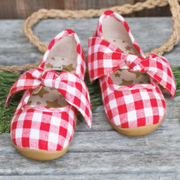 Livie & Luca Halley  Shoes - Red Gingham (Spring 2019)