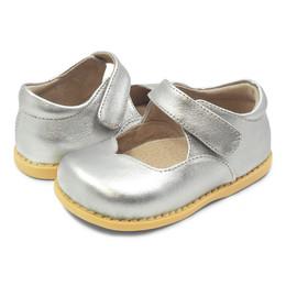 Livie & Luca Astrid Shoes - Silver Metallic (Spring 2019)