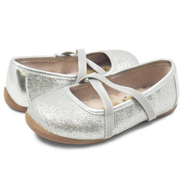 Livie & Luca Aurora Shoes - Silver Sparkle (Spring 2019)
