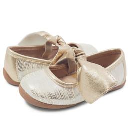 Livie & Luca Halley Shoes - Cream Tinsel (Spring 2019)