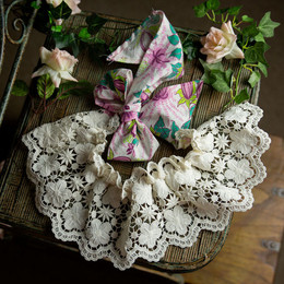 Frilly Frocks Nora 2N1 Lace Apron / Shrug (*Dress Sold Separately*)