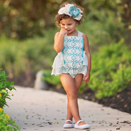 Frilly Frocks Nora Lace Sunsuit
