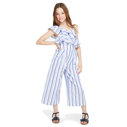 Habitual Girl Jaxon Stripe Jumpsuit - Stripe