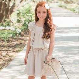 Isobella & Chloe Juniper Dress - Taupe