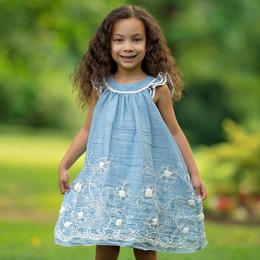 Isobella & Chloe Terilee Dress - Blue
