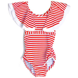 Isobella & Chloe Cape Town 1pc Swimsuit - Red