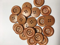 Dyed Wooden Buttons