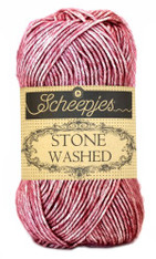 Scheepjes Stone Washed-Corundum Ruby 808