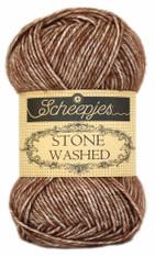 Scheepjes Stone Washed-Brown Agate 822