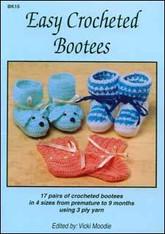 Easy Crochet Booties