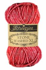 Scheepjes Stone Washed XL-Red Jasper 847