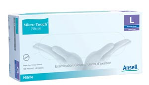 Ansell Micro-Touch Nitrile Medical Exam Gloves