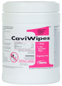 Metrex Research Caviwipes1 Surface Disinfectant Wipes