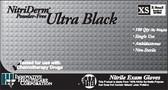 Innovative Healthcare NitriDerm Ultra Black Nitrile Exam Gloves