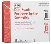 PDI PVP Iodine Duo-Swab Iodine Scrub and Iodine Prep