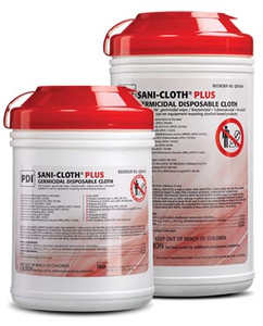 PDI Sani-Cloth Plus Surface Disinfectant Wipes