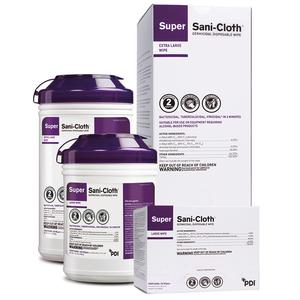 PDI Super Sani-Cloth Surface Disinfectant Germicidal Wipes