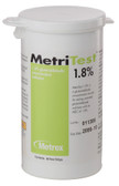 MetriTest Glutaraldehyde Test Strips 1.8%