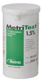 Metrex Research MetriTest Glutaraldehyde Test Strips 1.5%