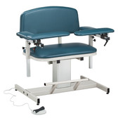 Clinton Blood Drawing Chair Padded Arms Power Series Extra-Wide 6351