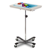 Clinton Mobile Phlebotomy Stand One-Bin 6901