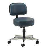 Clinton 5-Leg Spin-Lift Stool with Backrest 2150-21