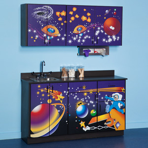Clinton Pediatric Exam Room Cabinets Space Place 6135 BW