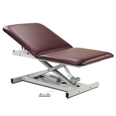 "Clinton Bariatric Power Table Open Base Extra Wide 34"" Adjustable Backrest 84200-34"